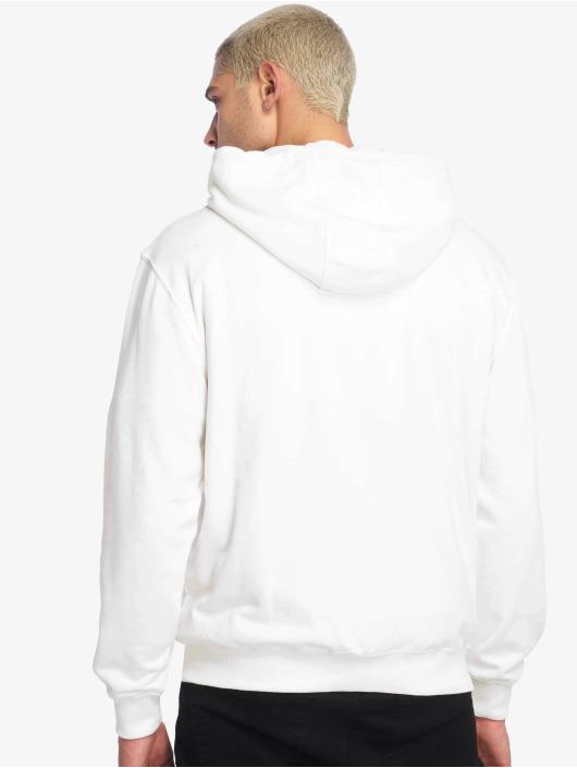 De Ferro Sweat capuche zippé Impressive Fore blanc