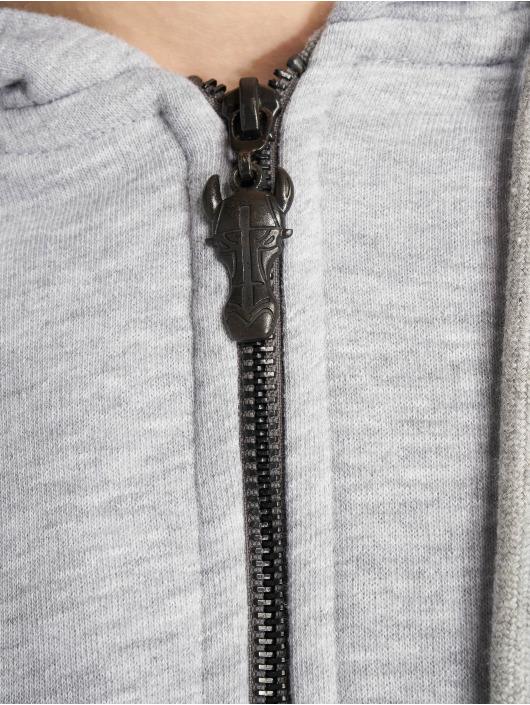 De Ferro Sweat capuche zippé Deferro Law gris