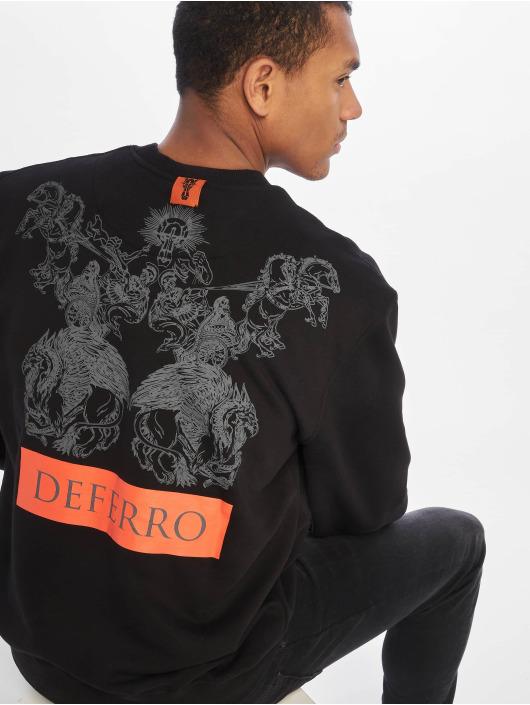 De Ferro Swetry Mighty Deferro czarny