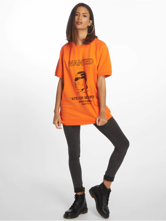 De Ferro T-shirt T Wanted arancio