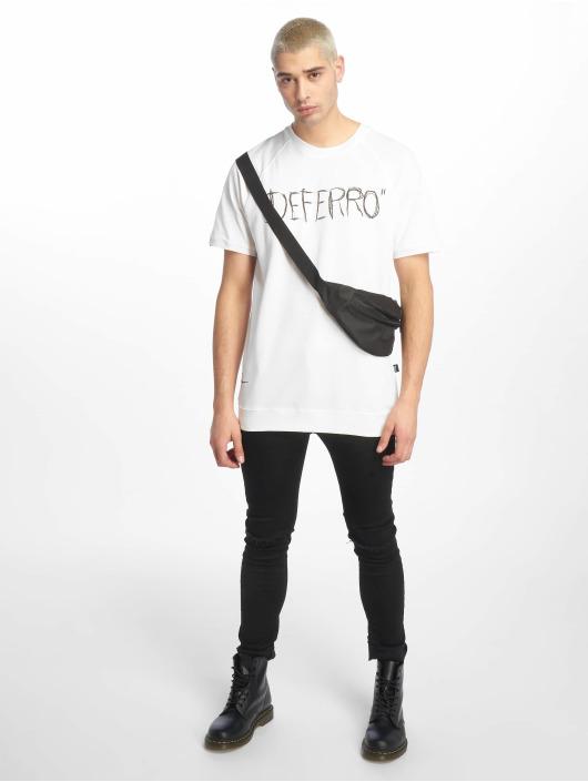 De Ferro T-shirt Exclamation White bianco
