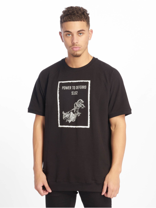 De Ferro T-Shirt Power T black