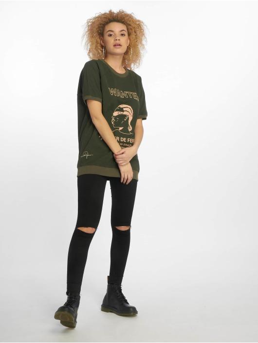 De Ferro T-shirt T Wanted grön