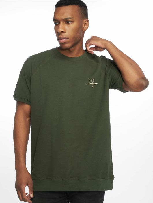 De Ferro T-Shirt Signature Small T grün