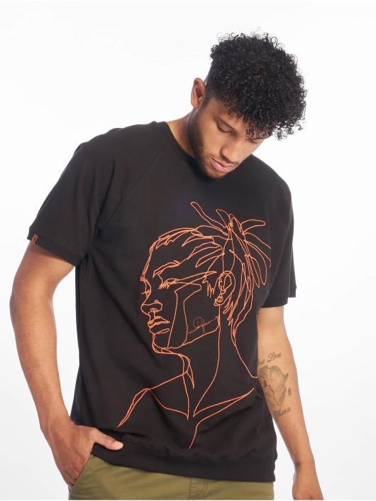 De Ferro T-Shirt T Dread schwarz
