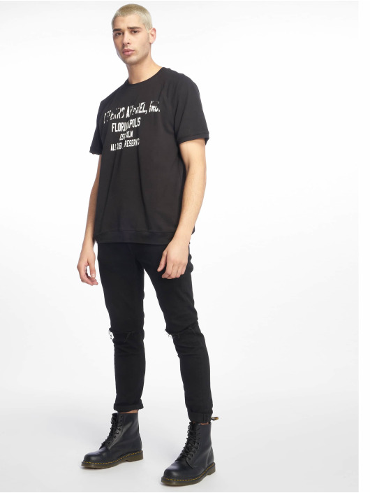 De Ferro T-Shirt T Word schwarz