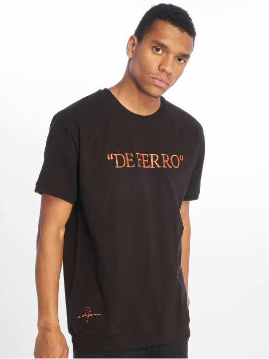 De Ferro T-shirt Deferrp Piece svart