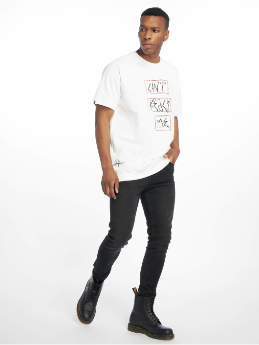 De Ferro T-shirt Can't Reach Me vit