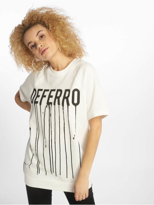 De Ferro T-shirt Draft vit