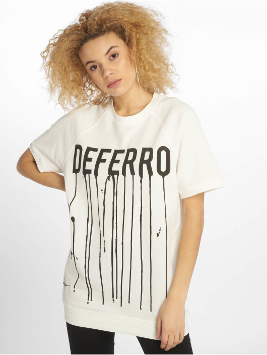 De Ferro t-shirt Draft wit