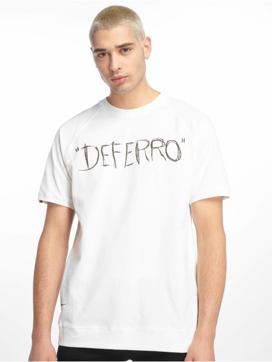 De Ferro T-shirts Exclamation White hvid