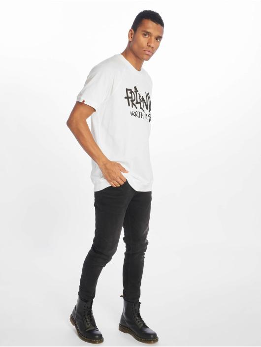 De Ferro T-shirts No Money hvid