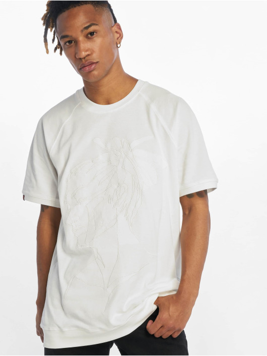 De Ferro T-Shirty T Dread bialy