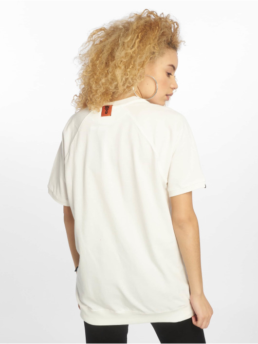 De Ferro T-Shirty Draft bialy