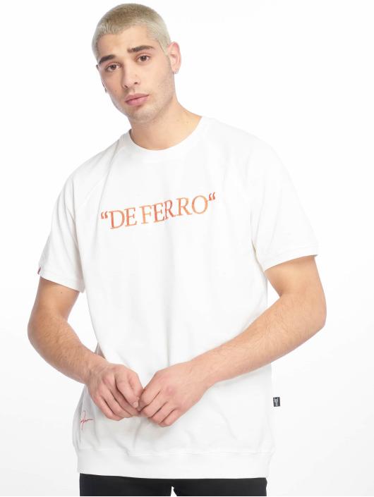 De Ferro T-Shirty Deferro Piece bialy