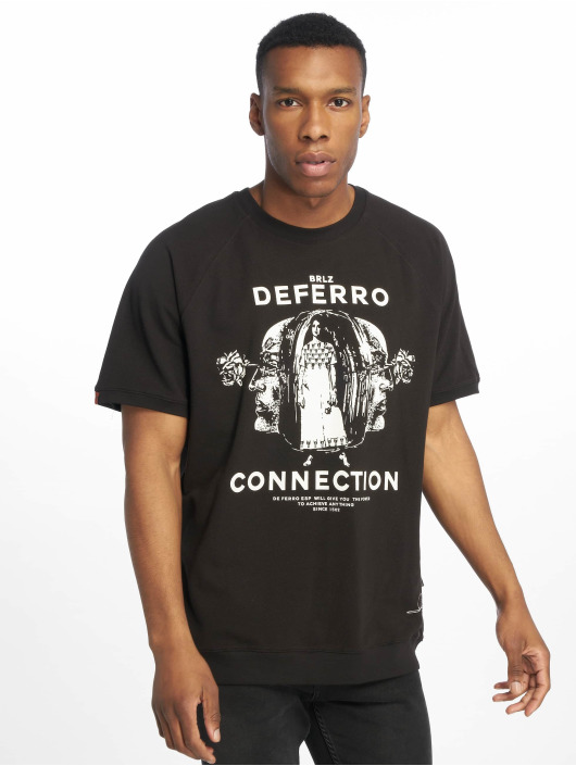 De Ferro T-Shirty T Connection czarny