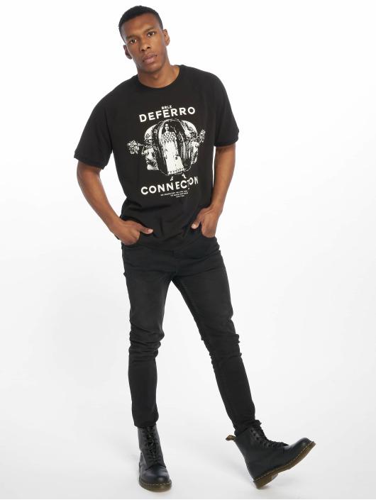 De Ferro T-Shirty T Connection czarny
