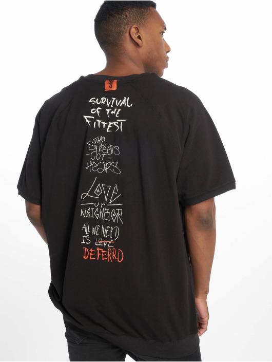 De Ferro T-Shirty Exclamation T Money czarny