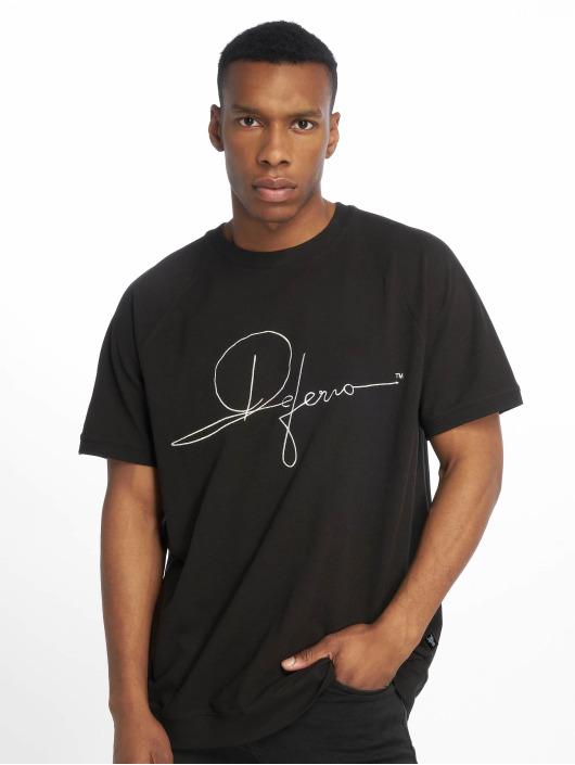 De Ferro T-Shirty Signature Big T czarny