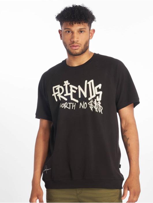 De Ferro T-Shirty No Money T czarny