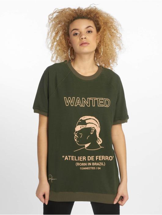 De Ferro T-Shirty T Wanted zielony