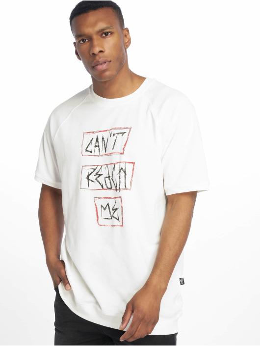 De Ferro T-skjorter Can't Reach Me hvit