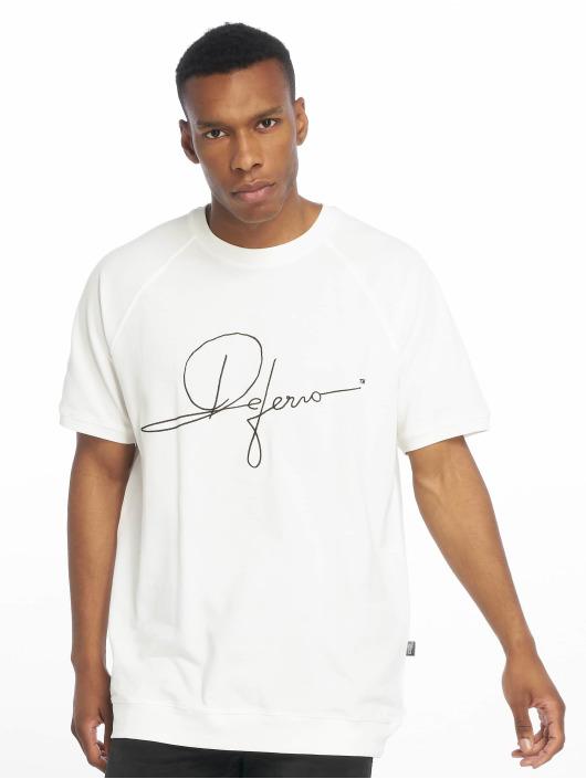 De Ferro T-skjorter Signature Big T hvit