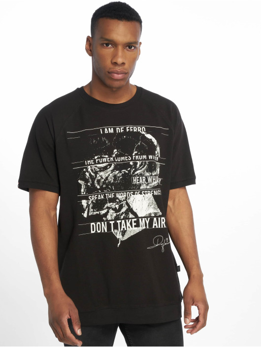 De Ferro T-skjorter T svart
