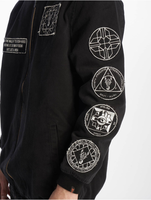 De Ferro Transitional Jackets Confident Spirit svart