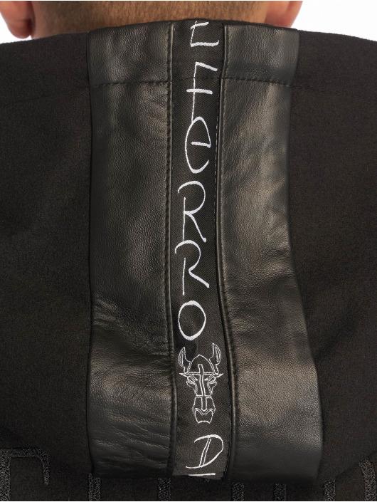De Ferro Veste & Blouson en cuir Stalion Ride noir