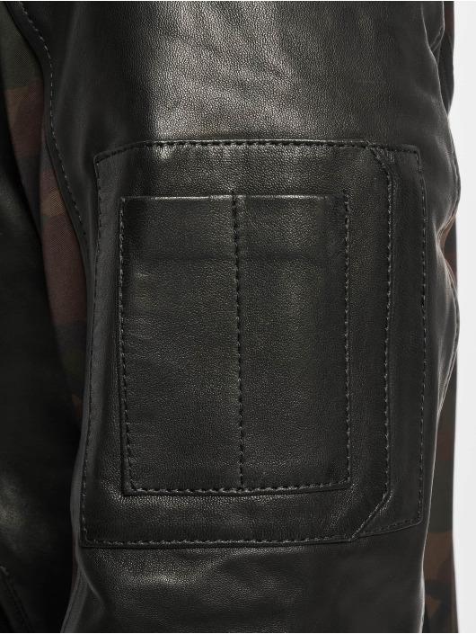 De Ferro Veste & Blouson en cuir Eve Bb noir