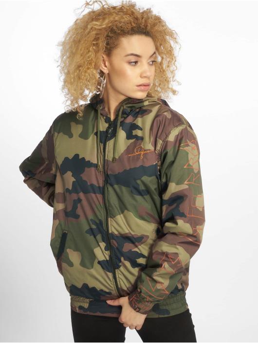 De Ferro Veste mi-saison légère Crossed Face Zip camouflage
