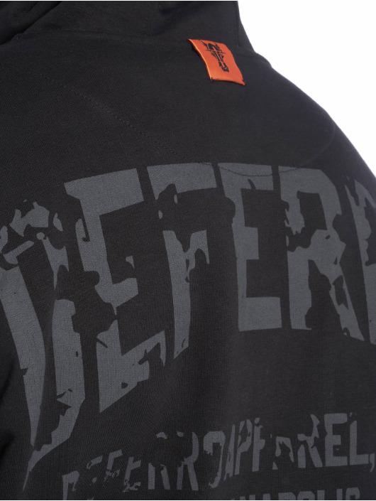 De Ferro Vetoketjuhupparit Deferro Law Zip musta