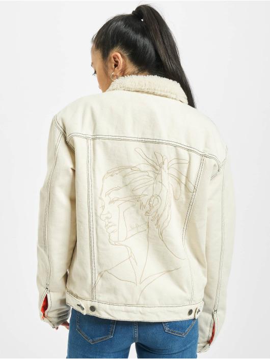 De Ferro Winter Jacket Beige Dread Lam beige