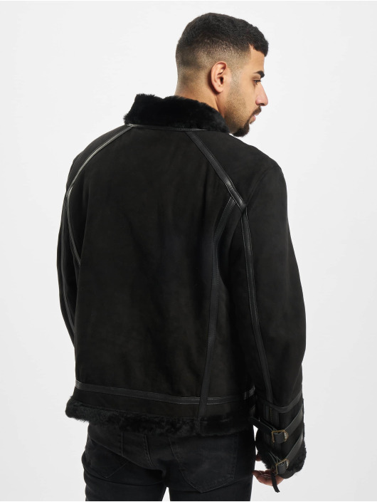 De Ferro Winter Jacket Beat Up black