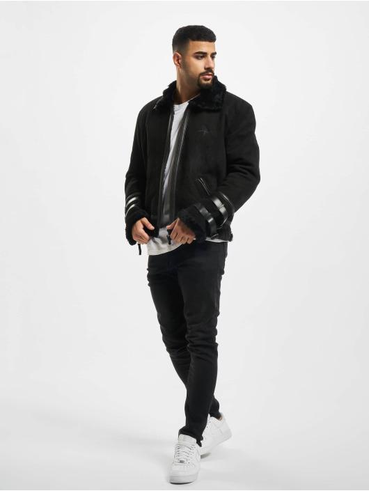 De Ferro Winter Jacket Beat Up black