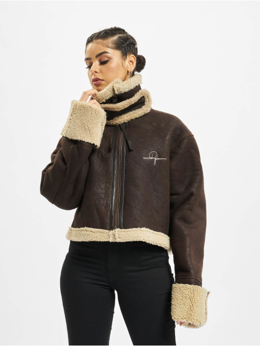 De Ferro Winter Jacket Brown Lam brown