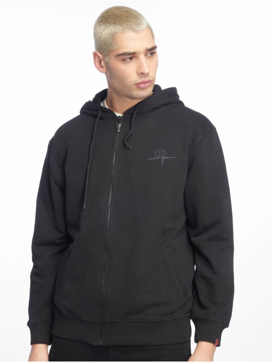De Ferro Zip Hoodie Deferro Law Zip svart