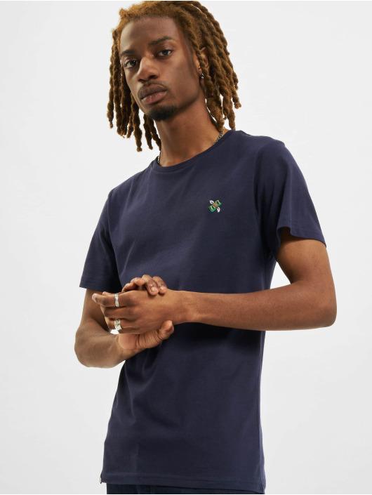 DEDICATED T-Shirty Stockholm niebieski