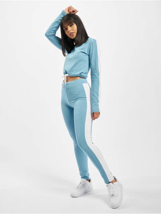 DEF Anzug Striped blau