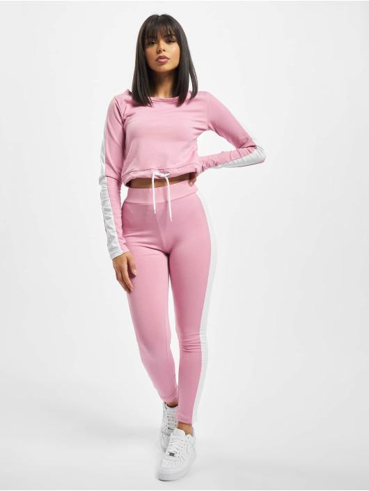 DEF Anzug Striped pink