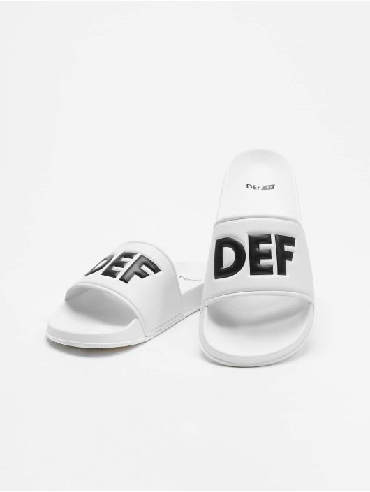 DEF Badesko/sandaler Defiletten hvit