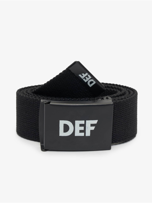 DEF Belt Canvas black