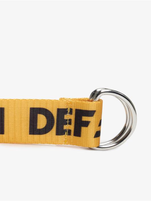 DEF Belt Canvas yellow