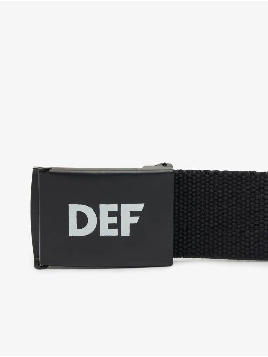 DEF Belts Canvas svart