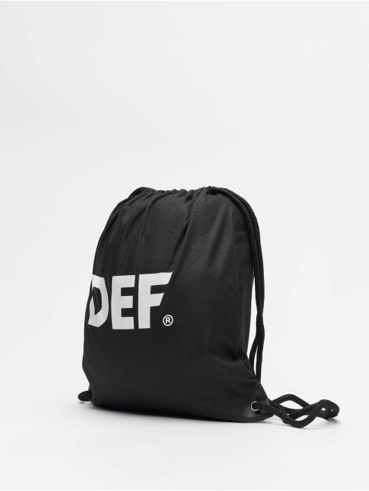 DEF Beutel Logo svart