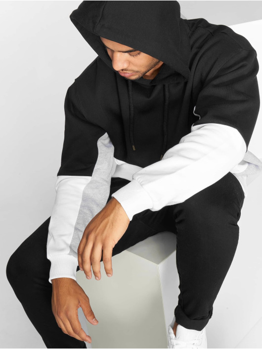 DEF Bluzy z kapturem Abiola czarny