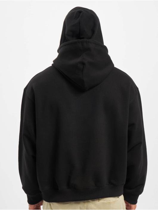 DEF Bluzy z kapturem Franky czarny