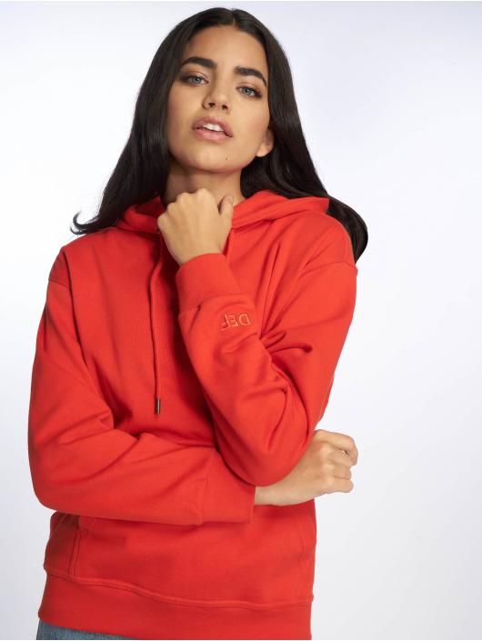 DEF Bluzy z kapturem Rachel czerwony