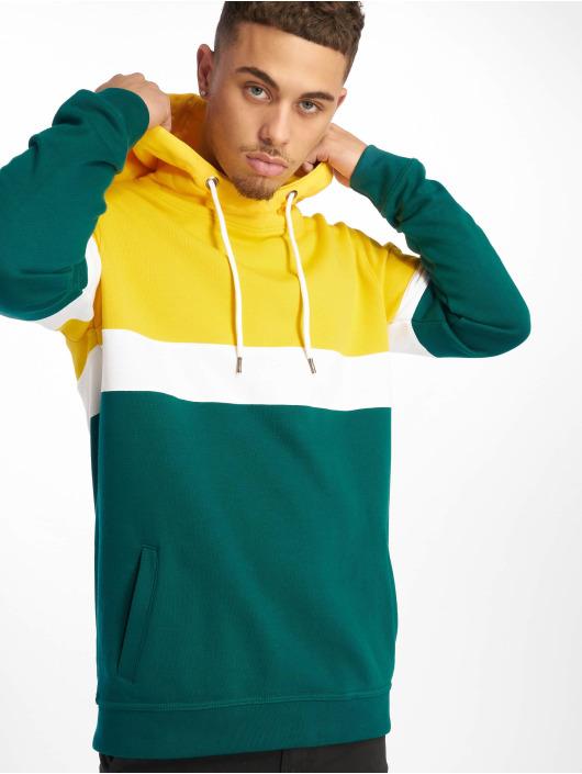 DEF Bluzy z kapturem Rye zielony